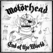 MOTÖRHEAD - End of End of The Wörld Limited Edition Boxset (Includes 3 x DVDs, 1 x Blu-Ray, audio discs, Motörhead Keychain with bottle opener)