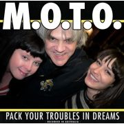 M.O.T.O. - Pack your troubles in dreams LP Svart UUSI LTD 500 COPIES