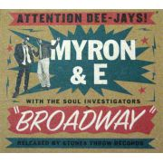 Myron & E With The Soul Investigators ‎– Broadway CD