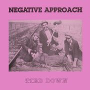 NEGATIVE APPROACH - Tied Down LP UUSI Touch And Go Records LTD PURPLE Vinyl