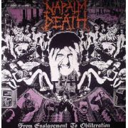 NAPALM DEATH - From Enslavement To Obliteration LP UUSI Earache
