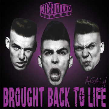 NEKROMANTIX - Brought Back To Life Again LP Hellcat UUSI