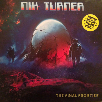NIK TURNER - The Final Frontier LP UUSI Purple Pyramid LTD Yellow Vinyl