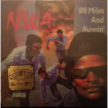 N.W.A. - 100 Miles And Runnin LP LTD 3D cover Universal