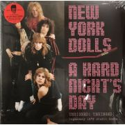 NEW YORK DOLLS - A Hard Night's Day - Unsigned! Unhinged! Legendary 1973 Studio Demos 2LP LTD VIOLET