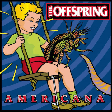 OFFSPRING -  Americana LP UUSI Universal