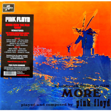 PINK FLOYD - More LP Warner REMASTERED 2016 VERSION M/M