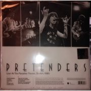 PRETENDERS - Live! At The Paradise Theater, Boston, 1980 LP RSD2020 release