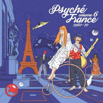 V/A - Psyché France 1960-70 Volume 6 LP RSD2020 release