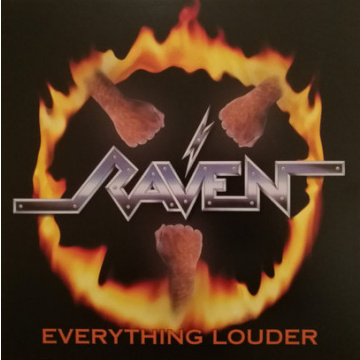 RAVEN - Everything Louder 2LP UUSI Night of The Vinyl Dead LTD 500 copies