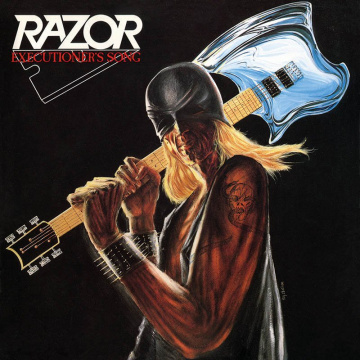RAZOR - Executioner's Song LP Storm LTD RED