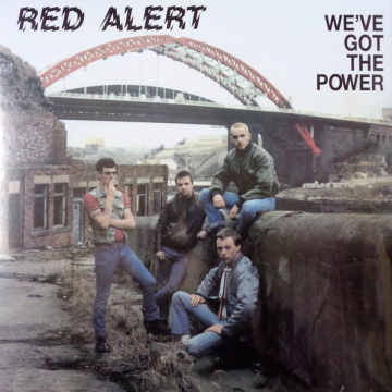 RED ALERT - We've got the power LP UUSI Radiation