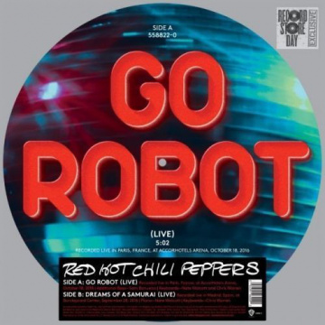 "RED HOT CHILI PEPPERS - Go Robot 12"" PICTURE DISC"