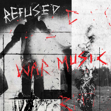 REFUSED - War Music LP UUSI Spinefarm LTD Red Vinyl
