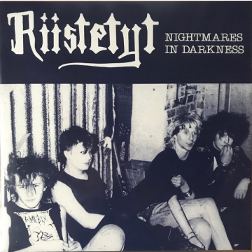 RIISTETYT - Nightmares In Darkness LP UUSI black vinyl