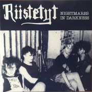 RIISTETYT - Nightmares In Darkness LP UUSI LTD PURPLE vinyl