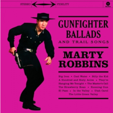 MARTY ROBBINS - Gunfighter Ballads and Trail Songs LP Waxtime In Color, 4 Bonus Tracks