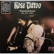 ROSE TATTOO - Transmissions: On Air 1981 2LP+DVD  Repertoire Records ‎