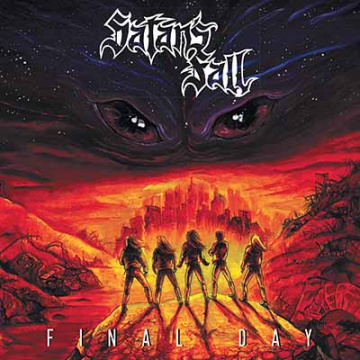 SATAN'S FALL - Final Day LP UUSI LTD ORANGE