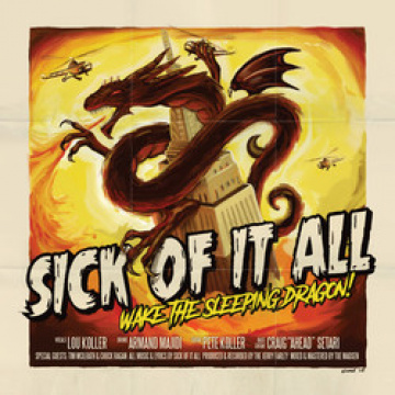 SICK OF IT ALL- Wake the Sleeping Dragon! LP+CD UUSI CM