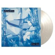 SLOWDIVE - Blue Day LP UUSI Music On Vinyl LTD 3000 Numbered White Marbled Vinyl