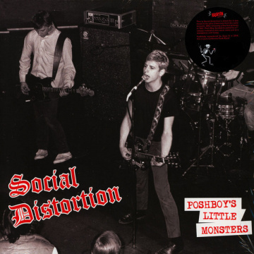 SOCIAL DISTORTION  - Poshboy's Little Monsters EP UUSI BLACK - RSD 2019 RELEASE