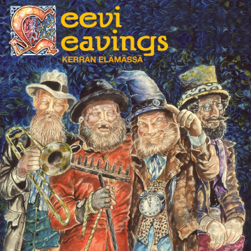 LEEVI AND THE LEAVINGS - Kerran elämässä LP MUSTARD VINYL Svart Records