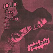 "STIMULATORS - Loud Fast Rules 7"" Frontier Records LTD PINK"