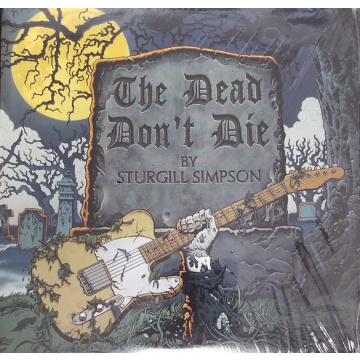 "STURGILL SIMPSON - The Dead Don't Die 7"" UUSI Elektra"