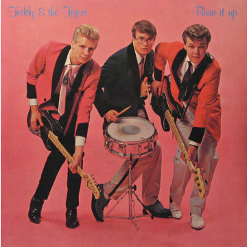 TEDDY & THE TIGERS - Burn it up LP Poko Rekords UUSI