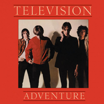 TELEVISION - Adventure LP UUSI Warner Elektra LTD RED VINYL