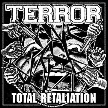 TERROR - Total Retaliation LP UUSI black