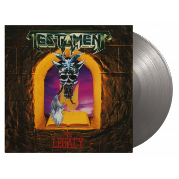 TESTAMENT - The Legacy LP UUSI Music On Vinyl LIMITED 1500 NUMBERED SILVER VINYL