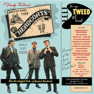 THEE HEADCOATS - In Tweed We Trust LP Damaged Goods