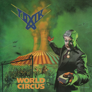 TOXIK - World Circus LP UUSI Music On Vinyl LTD 1500 Numbered GREEN