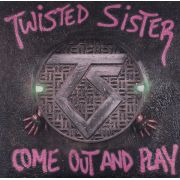TWISTED SISTER - Come Out And Play LP UUSI Atlantic