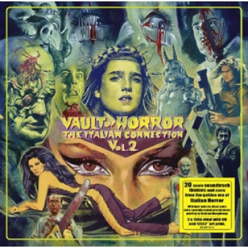 V/A - Vault Of Horror-The Italian Connection Vol.2 Demon Records 2LP+CD UUSI Demon
