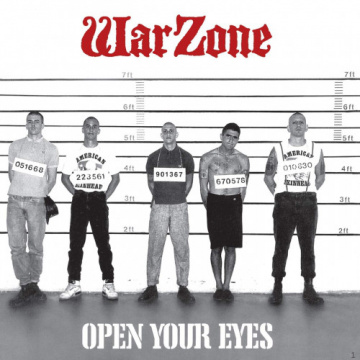 WARZONE - Open Your Eyes LP Revelation 30th anniversary press COLOUR VINYL