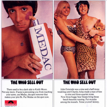 WHO - The who sell out LP Polydor UUSI