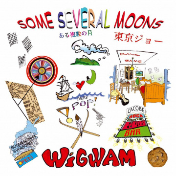 WIGWAM - Some Several Moons 2LP RED VINYL Svart Records