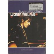 WILLIAMS LUCINDA - Live from Austin Tx DVD 1989