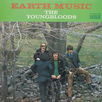 YOUNGBLOODS - Earth music LP Sundazed UUSI
