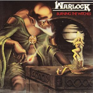 WARLOCK - Burning the witches CD