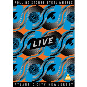 ROLLING STONES - Steel Wheels Live DVD