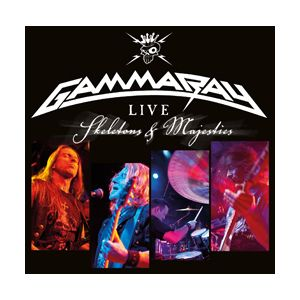 GAMMA RAY - Live - Skeletons and Majesties 2CD