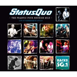 STATUS QUO - Back 2SQ. 1 - The Frantic Four Reunion 2LP Ear Music