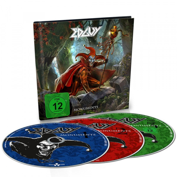 EDGUY -Monuments 2CD+DVD