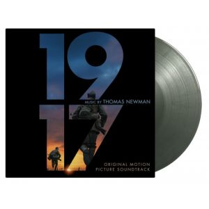 SOUNDTRACK - 1917 2LP UUSI Music On Vinyl LTD 2000 green & silver vinyls