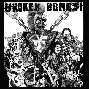 BROKEN BONES - Dem Bones LP Black & White Quarted Vinyl RSD2020 release