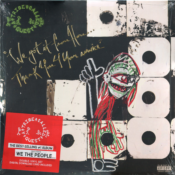 A TRIBE CALLED QUEST - We Got It From Here Thank You 4 Your Service 2LP UUSI Sony